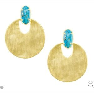 Kendra Scott Deena Earrings in Turquoise